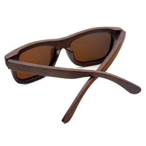 WnG Napszemüveg Fullwood barna-barna hátulról