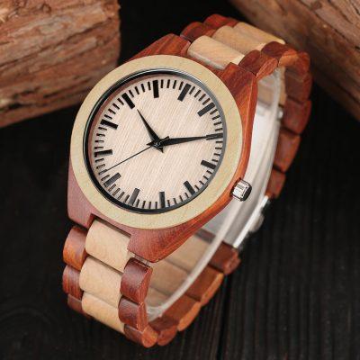 WnG Contrastline Kézzel készített Karóra - woodengoods.hu