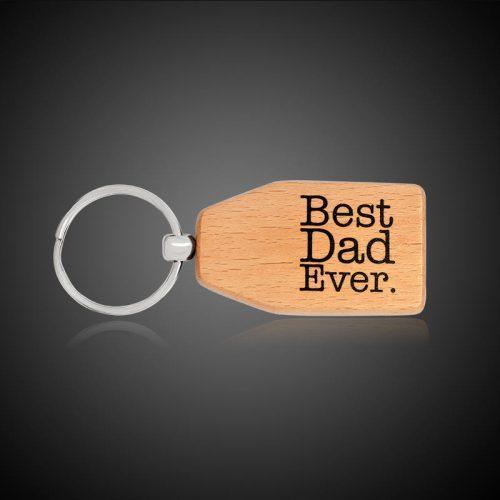 """WnG Fa Kulcstartó - """"A legjobb Apának"""""""