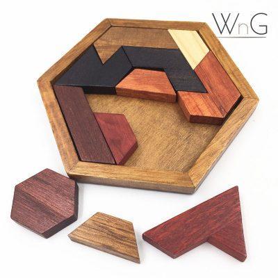 WnG Tangram Fa Játék