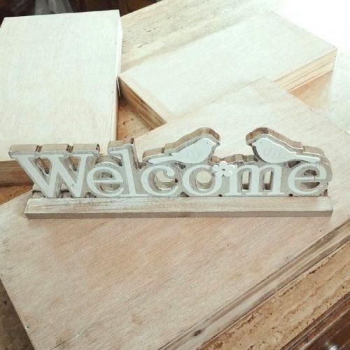 WnG Welcome Fa Dekoráció