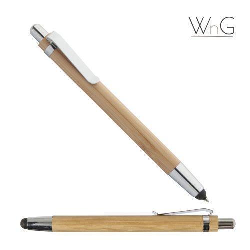 WnG Bambusz Golyóstoll Érintővel